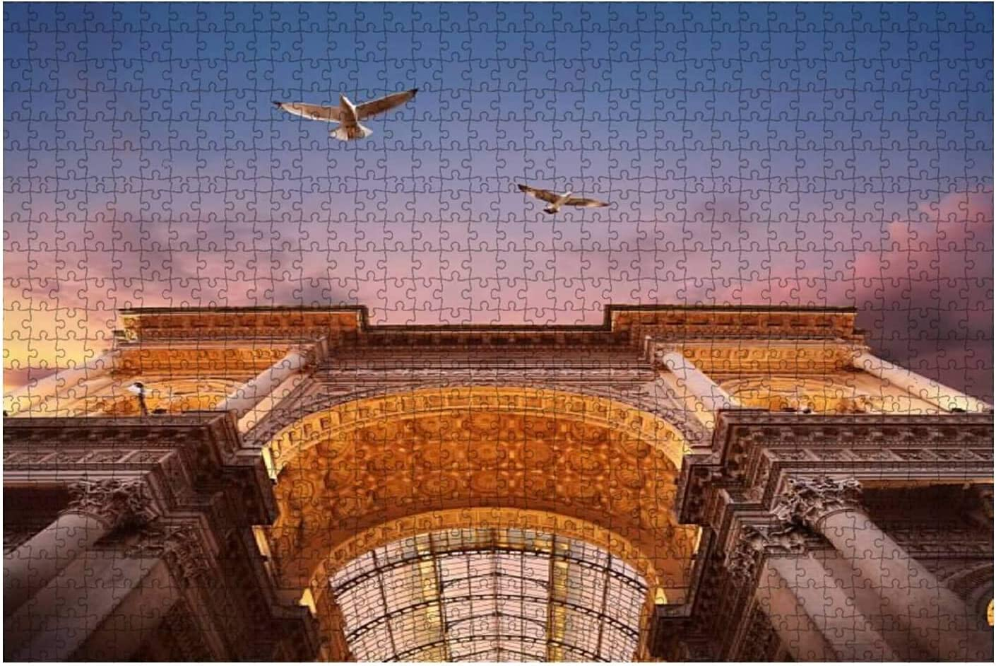 1000 Pieces-Galleria Vittorio Emanuele DIY Puzzle Jigsaw Outlet ☆ Free Shipping Max 58% OFF Wooden