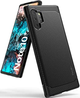 Ringke Onyx Designed for Galaxy Note 10 Plus Case, Galaxy Note 10 Plus 5G Case (2019) - Black