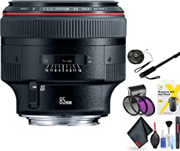Canon EF 85mm F/1.2L Ii USM Lens for Canon 6D, 5D Mark IV, 5D Mark III, 5D Mark II, 6D Mark II, 5Dsr, 5Ds, 1Dx, 1Dx Mark II + Accessories (International Model)