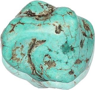 Real Gems 139,00 Quilates de Piedras Preciosas Naturales en Bruto de Turquesa Azul Natural certificada, Piedra Suelta de T...