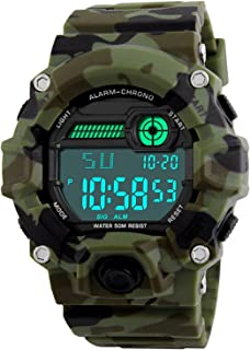 Kids Military Digital Watch with Timer - Waterproof...
