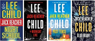 Jack Reacher Collection #5 (volumes 21-24) by Lee Child, Includes: Night School; The Midnight Line; Past Tense & Blue Moon