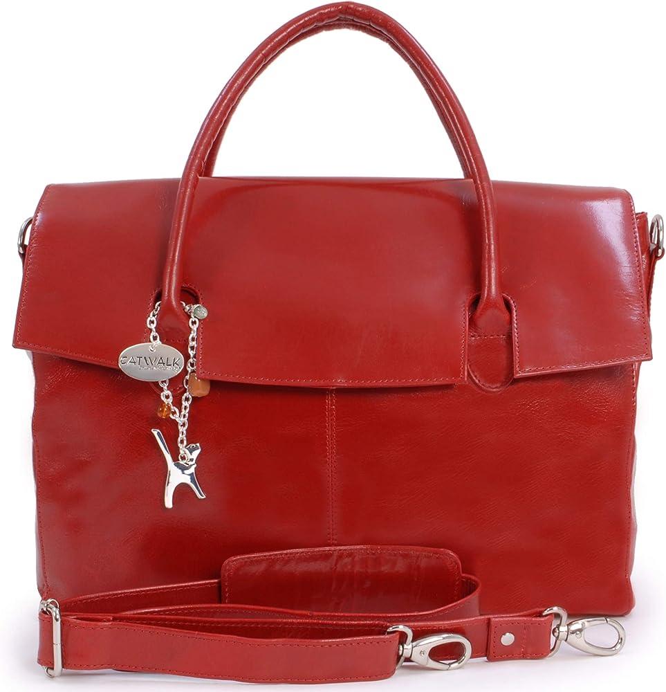 catwalk collection grande borsa a mano/ tracolla da lavoro unisex porta pc portatile 5060167687723