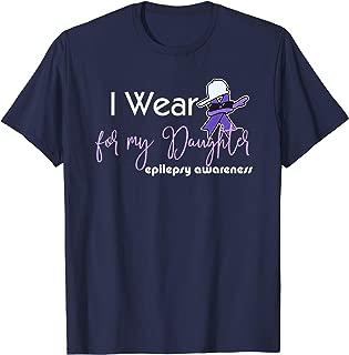 Epilepsy awareness shirt for my daughter purple TeeShirt