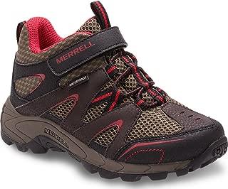 Merrell Kids Hilltop Mid Quick Close Hiking Shoe