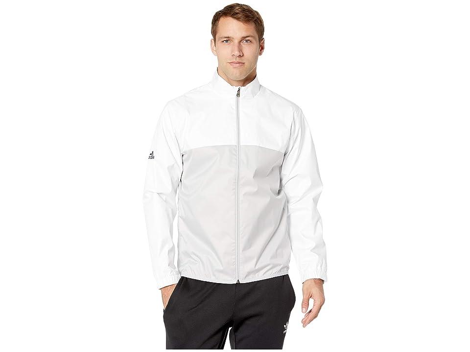 adidas Golf Climastorm Provisional Rain Jacket (White) Men