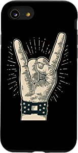 iPhone SE (2020) / 7 / 8 Sign of the horns - Rock music - Rock'n'roll - Heavy Metal Case