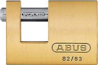 ABUS 11490 Monoblock hangslot 82/63, Grijs