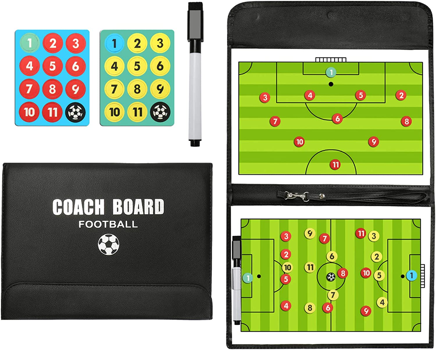 PhantomSky Portable Professional Soccer Tactic Selling rankings Magnetic Football Max 61% OFF