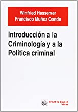 Introducción a la criminología y a la política criminal