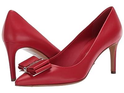 Salvatore Ferragamo 70 mm Zeri Pump (Lipstick) High Heels