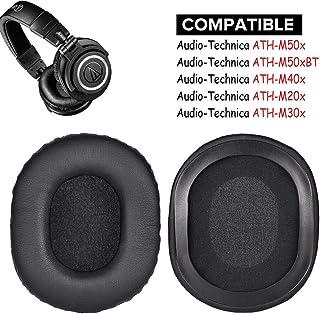 Almohadillas de Repuesto para Auriculares M50X, compatibles con Audio-Technica ATH-M50X M40X M30X M50xBT