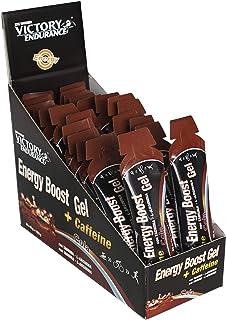 Energiboost gel koffein cola. 42 g x 24 geler. Snabb och varaktig energi. med koffein och guarana.