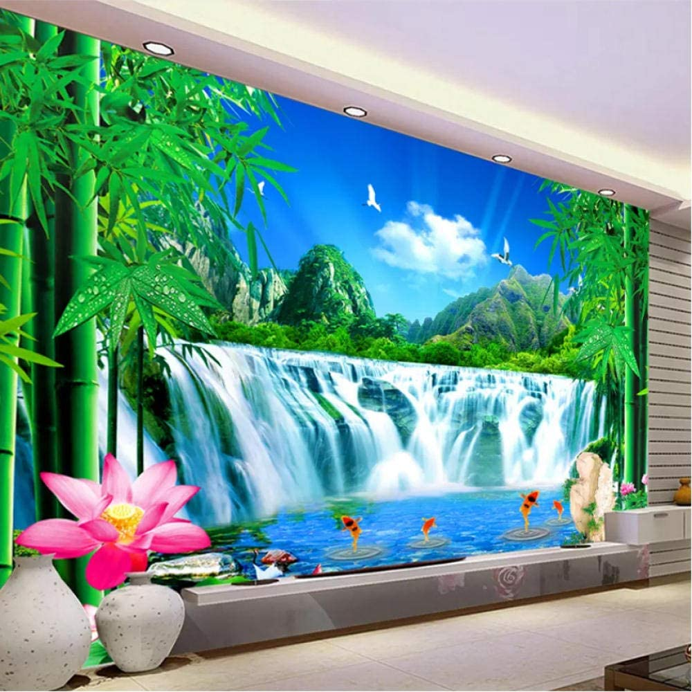 Clhhsy Waterproof New item and Removable Natural Denver Mall Water Waterfall Mountain