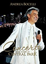 CONCERTO - ONE NIGHT IN CENTRAL PARK [DVD]-ANDREA BOCELLI