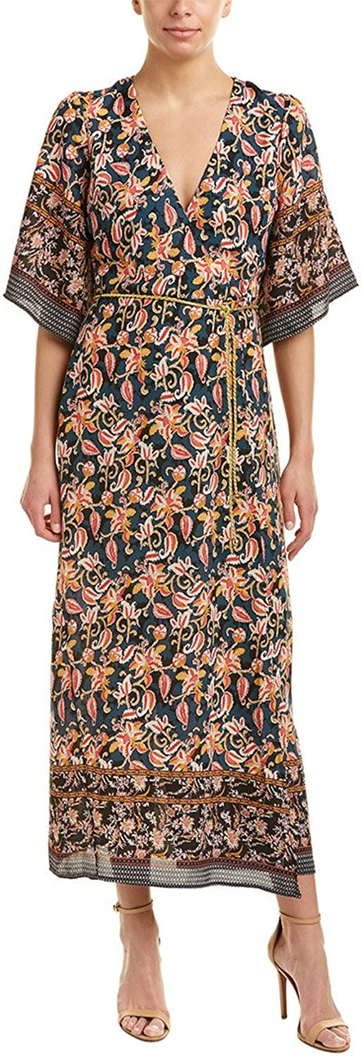 Alexia Admor Women's Printed Border Wrap Dress