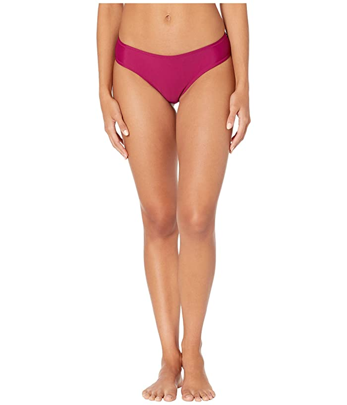 Volcom Simply Solid Cheeky Bottom (Paradise Purple) Women