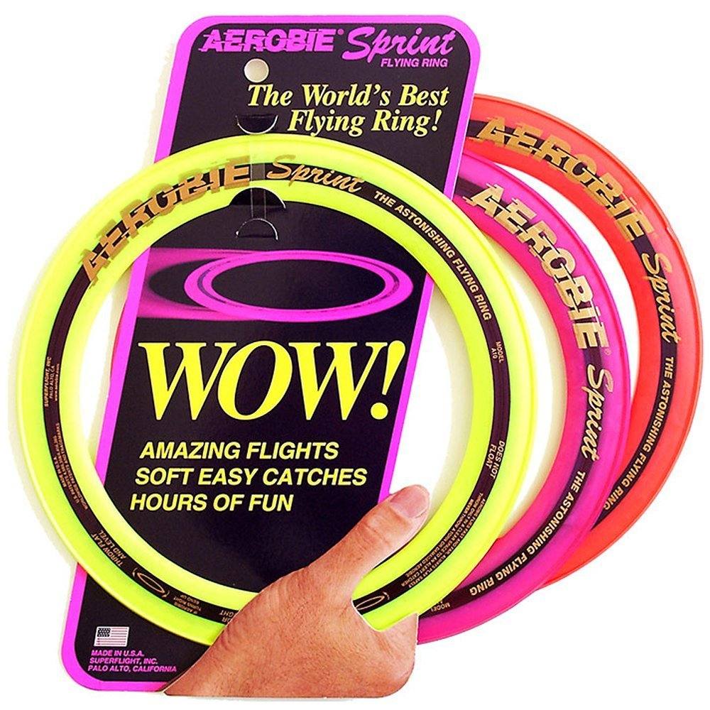 Aerobie Sprint Ring Colors Vary
