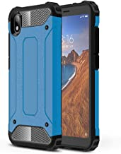 TenYll Case for Xiaomi Redmi 7A, Full-body Rugged Case TPU + PC,durable,Four corners thickened,Suitable for Xiaomi Redmi 7A -Dark Blue