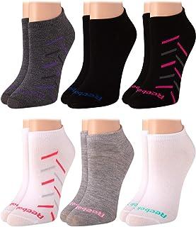 Reebok Women's Athletic Socks – Lightweight Low Cut Socks (6 Pack)