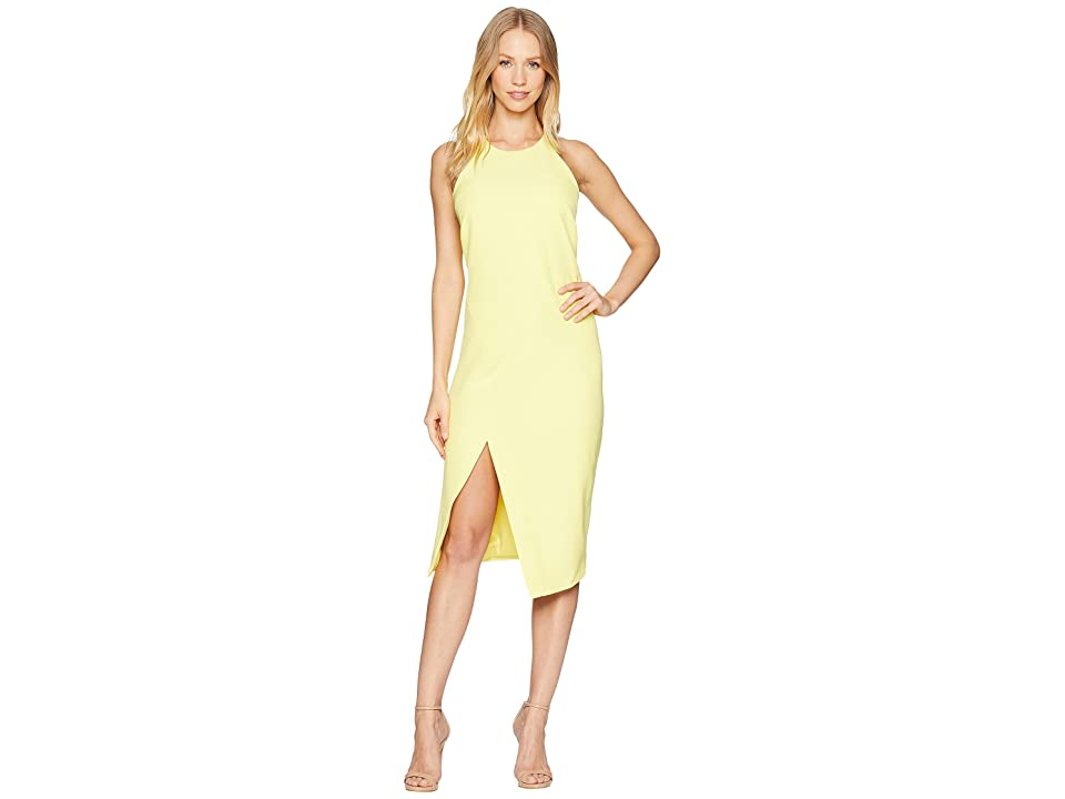 Bardot Vera Open Back Dress (Banana) Women