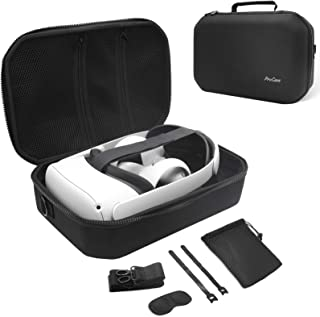 ProCase Hard Travel Case for Oculus Quest 2 VR Gaming Headset, Controllers Accessories Shockproof EVA Hard Shell Carrying ...