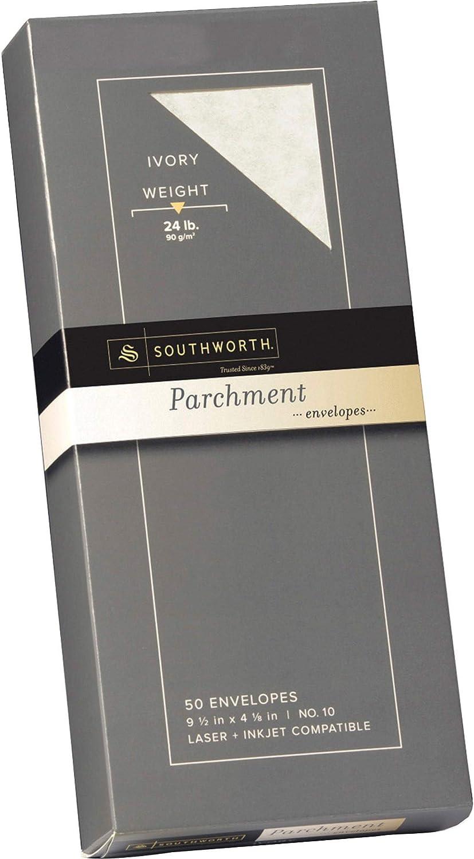 SOUP98410L - Super sale Southworth Parchment Envelopes Beauty products