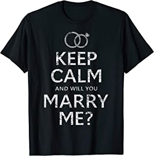 Will You Marry Me T Shirt Funny Marriage Proposal Idea