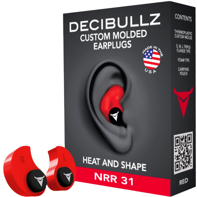 Decibullz Earplugs Comfortable Protection Shooting