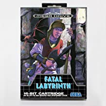 TopFor Fatal Labyrinth 16 Bit Sega Md Game Card With Retail Box For Sega Mega Drive For Genesis