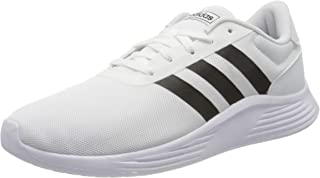 adidas Lite Racer 2.0, Men's Road Running Shoes, White (Ftwr White/Core Black)
