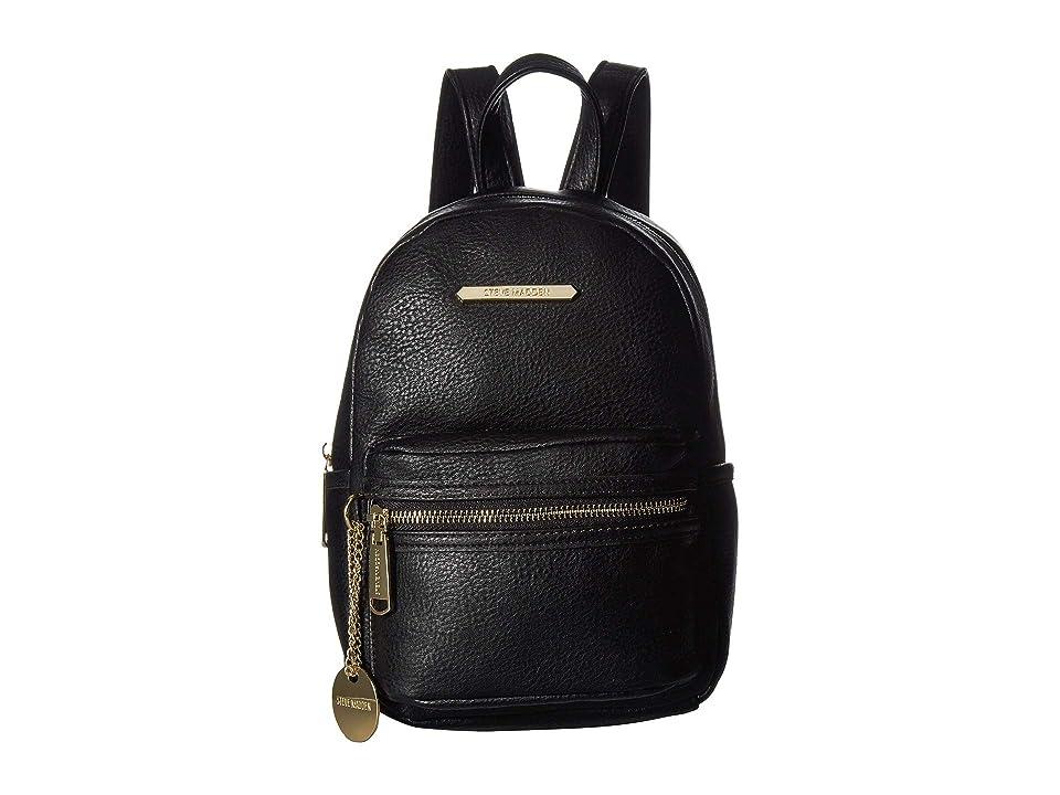 2ecdb2da0c Steve Madden Bbailey PVC Backpack (Black) Backpack Bags