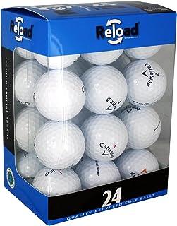 بارگیری مجدد توپ های گلف بازیافت شده (24 بسته) توپ های گلف Callaway