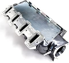 BBK 5004 Compatible with Chevrolet GM LS1 High Performance SSI Series Intake Manifold - Titanium Silver Powder Coat Finish