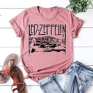 Leddd Zeppelinnnn Housess of the Holy T-shirt Swan Song Unisex T-shirt Tee R-ock leddzeppelinn t shirt logo t shirts for men and women