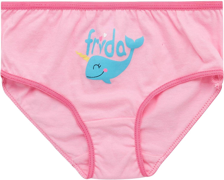 100/% Cotton Briefs Training Pants Rene Rofe Toddler Girls Underwear