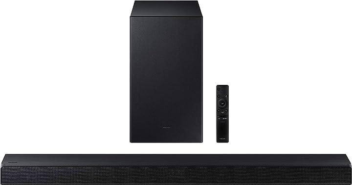 Soundbar samsung hw-a530/zf da 380w 2.1 canali nero B091Q7NCTY