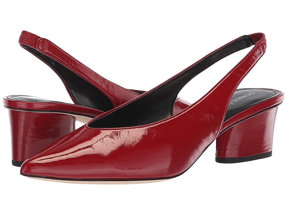 Donald J Pliner Gema (Cherry Distressed Patent) Women