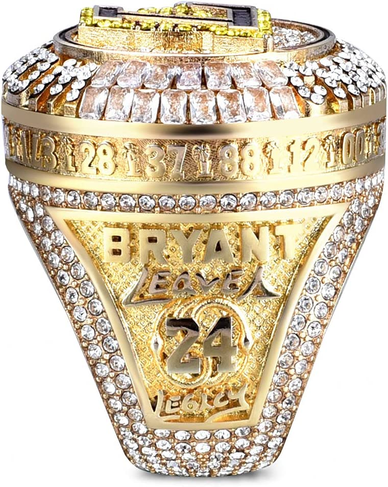 Limited Popularity Edition #24 for Kobe 2020 Championship low-pricing Lakers Ring Offic