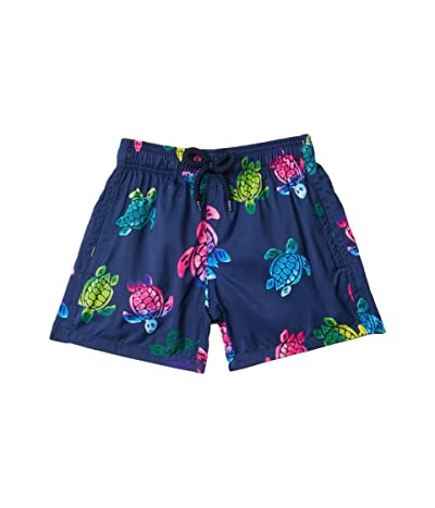Vilebrequin Kids Jihin Round Aquarel Swim Trunks (Toddler/Little Kids/Big Kids)