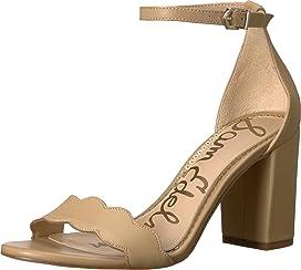 e5ea5ef3720 Sam Edelman Yaro Ankle Strap Sandal Heel at Zappos.com