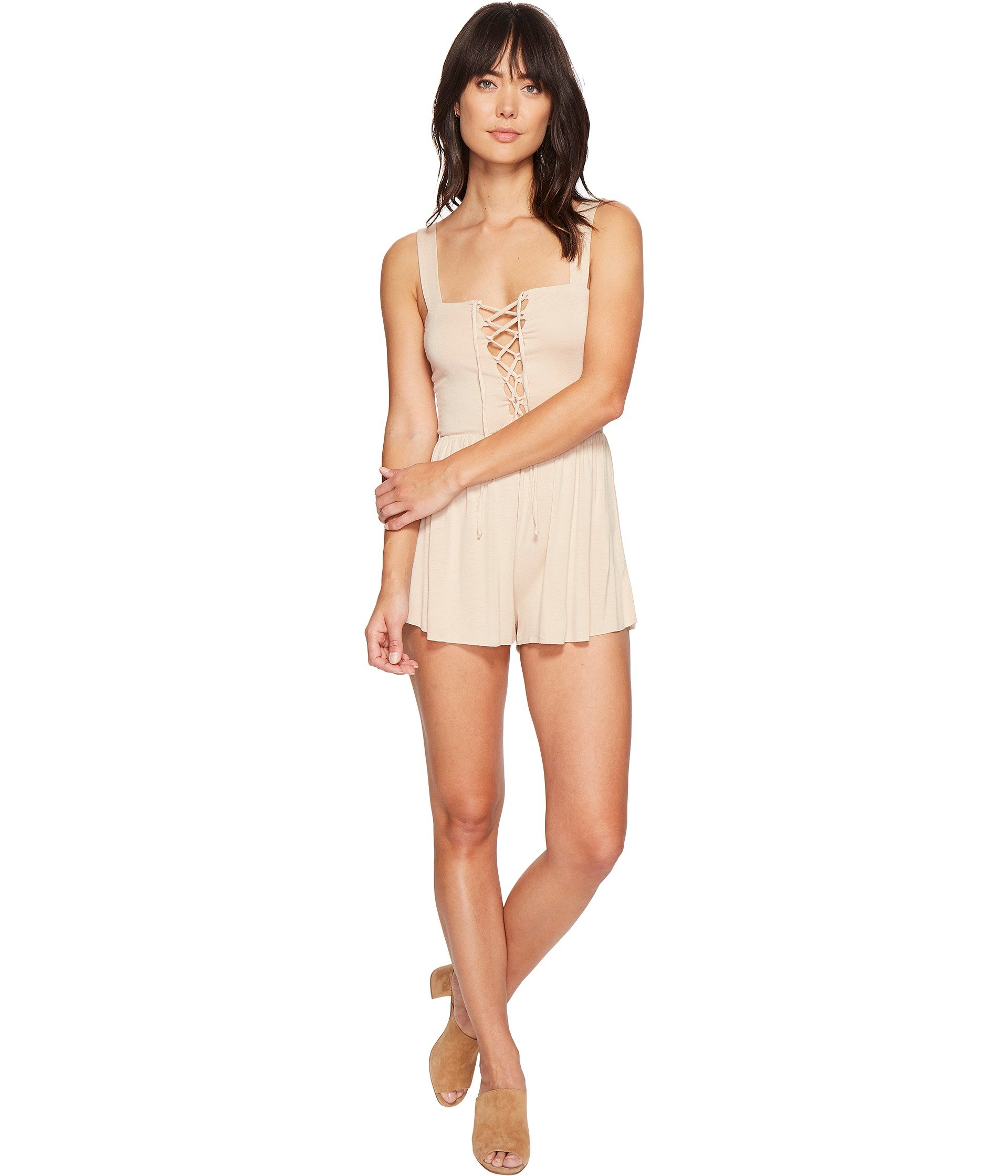 CLAYTON Kizzy Playsuit, Bare