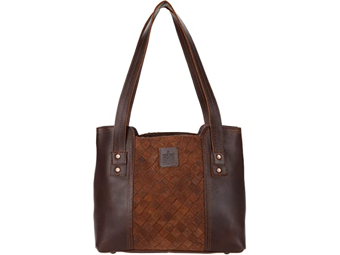 STS Ranchwear Basket Weave Small Tote