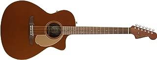 Fender Newporter Special - California Series Acoustic Guitar - Rustic Copper Finish