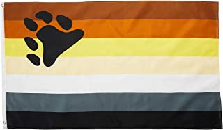 Quality Standard Flags Bear Polyester Flag, 3 by 5'