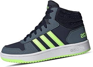 adidas Hoops Mid 2.0 K, Scarpe da Ginnastica Unisex-Bambini