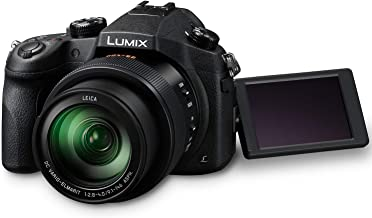 Panasonic LUMIX DMC-FZ1000 20.1MP 4K Point and Shoot Digital Camera w/16X Zoom Leica lens, Built-In Wi-Fi and NFC - Black (US Model)