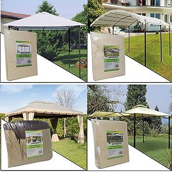 Telo Di Ricambio Con Air Vent Per Gazebo Mt 3x3 Teli Gazebi Arredo