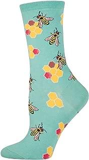 Women's Busy Bees Crew Socks