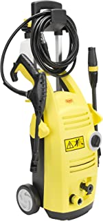 Realm1900 PSI 1.65 GPM 13 Amp Electric Pressure Washer Spray Gun,Adjustable Nozzle,Detergent Bottle, Yellow